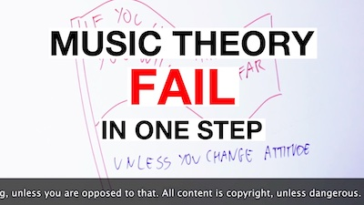 music theory fail