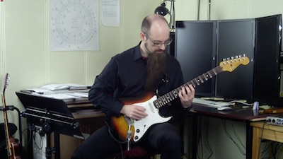 guitar arpeggio superimposition