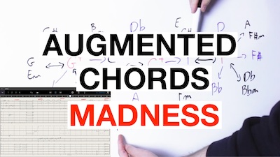 augmented chords guitar