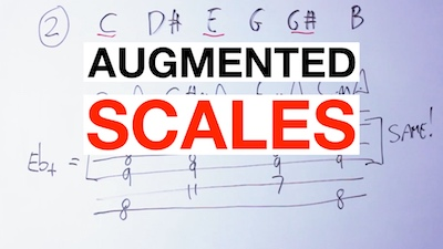 augmented scale guitar