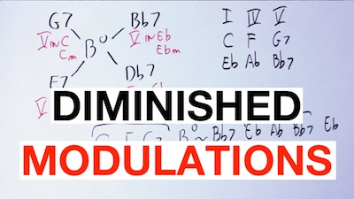 diminished modulation