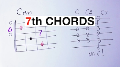 guitar seventh chords