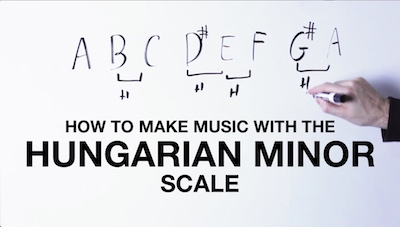 Hungarian minor chords