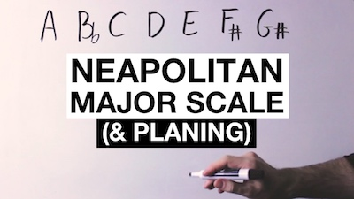 neapolitan major scale