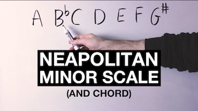 Neapolitan minor scale
