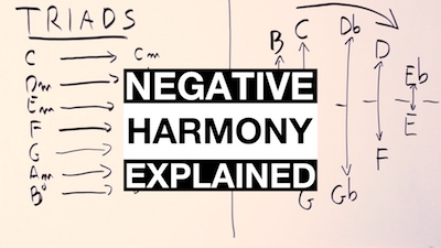 negative harmony guitar
