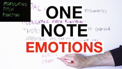 one note emotion