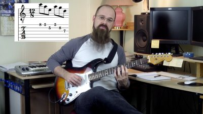 Advanced Pentatonic Scales for guitar