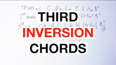 third inversion chords