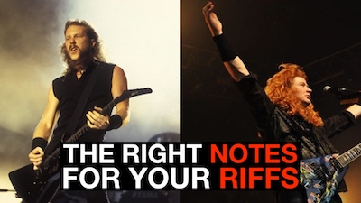 metallica riff writing